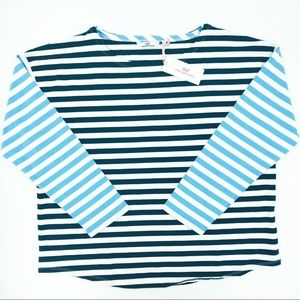 NEW! Vineyard Vines Mixed Stripe Knit Top